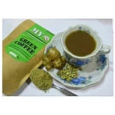 MY GINGER GREEN COFFEE/KOPI HIJAU DGN EKSTRAK JAHE/KOPI HIJAU 150GR