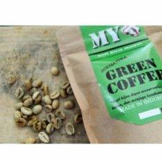 My Green Coffee Bean/ Biji Kopi Hijau/ Kopi Diet Berat 1kg/ 1000gr