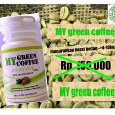 My Green Coffee Bean/ Kopi Hijau Kapsul Wamena/ Papua Supplement Diet