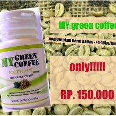 Perbandingan Harga My Green Coffee Capsule Kopi Hijau Kapsul Wamena Papua Suplement My Di Dki Jakarta