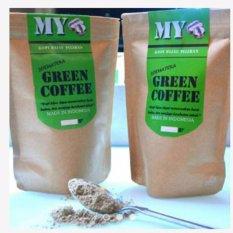My green coffee powder / Bubuk Kopi Hijau/ Kopi Diet Alami Kaya Antioksidan 200gr