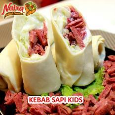 NAIRA KEBAB FROZEN Kebab Sapi Kids Isi 5 - Khusus Kota Medan dan Kota Jakarta