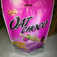Naraya Oat Choco Sweet Potato Oat Rasa Ubi Ungu Isi 9Pcs