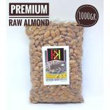 Beli Natural Raw Almond Premium Kacang Almond Utuh Premium Mentah Dengan Kulit Ari Tanpa Cangkang 1000Gr Lengkap