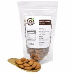Jual Natural Roasted Almond 500 Gr Import
