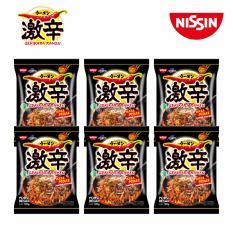 Nissin Gekikara Ramen Pedas Goreng 120gr x 6 pcs