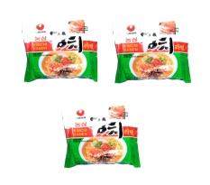Nongshim Kimchi Ramen Oriental Style Noodle 120 gr - 3 Pcs