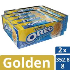 Toko Oreo Coklat Sandwich Biskuit Rasa Krim Golden Vanila Isi 24 Bungkus 29 4G Masing Masing Total 705 6G Lengkap Dki Jakarta