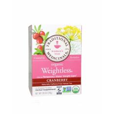 Spesifikasi Organic Caffeine Free Cranberry Weightless Tea 16 Bags Terbaru