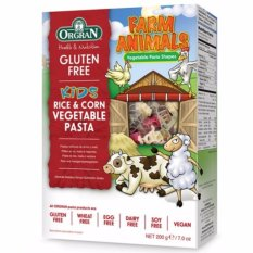 Review Pada Orgran Farm Animals Vegetable Pasta 200 Gr
