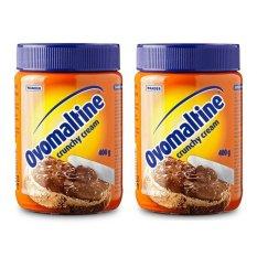 Ovomaltine Crunchy Cream - 400gr - 2 Pack