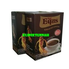 Beli 2 Kotak Herbal Kopi Equs Extra Stamina Korean Red Ginseng Herbal Online