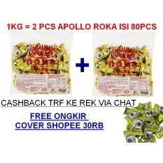 Paket Free Ongkir Apollo Roka Dapat 2Pack Apollo Roka Isi @80Pc