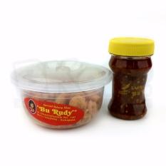 Paket Udang Renyah Kering Crispy Kecil Sambal Bawang Bu Rudy Oleh-Oleh Khas Bu Rudi Surabaya