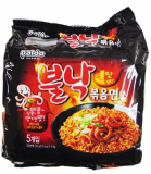 Paldo Bulnak Bokkummyun Hot Spicy Octopus Ramyun 4 X 130 Gram Paldo Diskon 40