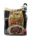 Spek Paldo Jjajangmen Jjangmyeon Black Bean Sauce Noodle Mie Instan
