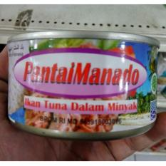 Pantai Manado Ikan Tuna Kaleng Dalam Minyak Nabati 180 gr 5 kaleng