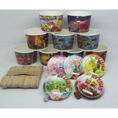 Harga Paper Cup Es Krim 50 Ml Online Jawa Timur