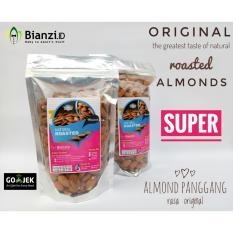 Miliki Segera Blue Diamond Kacang Almond Panggang Super 500 Gram Standing Pouch