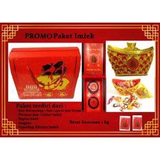 PROMO IMLEK MURAH MERIAH - Paket Imlek Sincia I Coklat I Kue Keranjang I Permen I Bonus Paperbag & Angpao