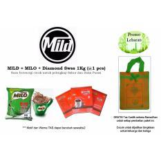 Promo Lebaran MilD (Milo by Nestle Professional + Diamond Swss) BONUS Tas Parsel Cantik Idul Fitri