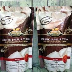 PROMO~Bionic Farm Keripik Jamur Tiram - BALADO 50 Gr ORIGINAL
