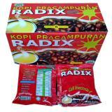 Radix Kopi Herbal Pracampuran 1 Box 15 Sachet Diskon Indonesia