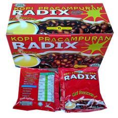Spesifikasi Radix Kopi Herbal Pracampuran 1 Box 15 Sachet Lengkap Dengan Harga