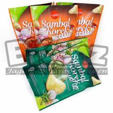 RasaLokal Paket 5 pcs Mix Rasa Lokal Keripik Singkong Sambal Korek Merah dan Ijo Oleh-Oleh Surabaya