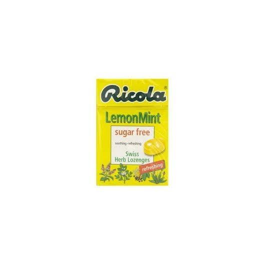Harga preferensial Ricola Lemon Mint Sugar Free 45 Gr - Permen herbal pereda tenggorokan gatal beli