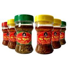 Sambal Bu Rudy Khas Surabaya - Sambal Bajak + Bawang 3btol + Ijo 2btol