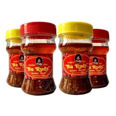 Sambal Bu Rudy Khas Surabaya - Sambal Bawang 1 btl + Bajak 1 btl + Bawang 1 btl + Bajak 1 btl