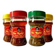 Sambal Bu Rudy Khas Surabaya - Sambal Bawang 1 btl + Bajak 1 btl + Ijo 1 btl + Bawang 1 btl