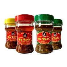 Sambal Bu Rudy Khas Surabaya - Sambal Bawang 1 btl + Bajak 1 btl + Ijo 2 btl