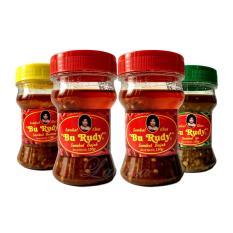 Sambal Bu Rudy Khas Surabaya - Sambal Bawang 1 btl + Bajak 2 btl + Ijo 1 btl
