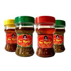Sambal Bu Rudy Khas Surabaya - Sambal Bawang 1 btl + Ijo 1 btl + Bajak 1 btl + Ijo 1 btl