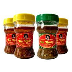 Sambal Bu Rudy Khas Surabaya - Sambal Bawang 2 btl + Ijo 1 btl + Bawang 1 btl