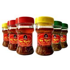 Sambal Bu Rudy Khas Surabaya - Sambal Bawang 2btol + Bajak 2btol +  Ijo 2btol