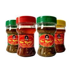 Sambal Bu Rudy Khas Surabaya - Sambal Ijo 1 Btl + Bajak 1 btl + Ijo 1 btl + Bawang 1 btl