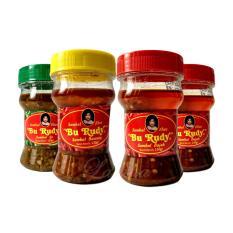 Sambal Bu Rudy Khas Surabaya - Sambal Ijo 1 Btl + Bawang 1 btl + Bajak 2 btl