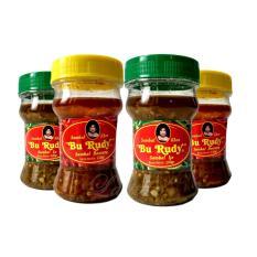 Sambal Bu Rudy Khas Surabaya - Sambal Ijo 1 Btl + Bawang 1 btl + Ijo 1 btl + Bawang 1 btl