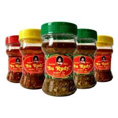 Sambal Bu Rudy Khas Surabaya - Sambal Ijo 2btol + Bawang 2btol + Bajak