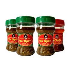 Sambal Bu Rudy Khas Surabaya - Sambal Ijo 3 btl + Bajak 1 btl