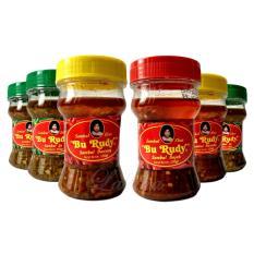 Sambal Bu Rudy Khas Surabaya - Sambal Ijo 3btol + Bawang 2btol + Bajak
