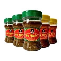 Sambal Bu Rudy Khas Surabaya - Sambal Ijo 3btol + Sambal Bawang 3btol