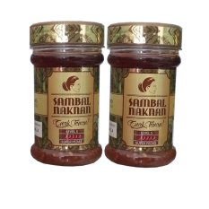 Sambal Naknan Level 5 - 2 Botol - Cabai Oleh Probolinggo Super Hot Pedas