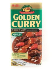 Jual S B Golden Curry Sauce Mix Saus Kari Bumbu 100G Medium S B Murah