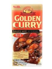 S&B Golden Curry Sauce Mix/ Saus Kari Bumbu 100g- ...