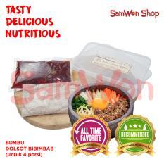 Jual Samwon Bumbu Dolsot Bibimbab Untuk 4Porsi Fresh Samwon Makanan Korea Indonesia Murah