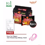 Beli Samyang Spicy Hot Chicken Ramen Buldak 1 Pack Isi 5 Pcs Halal Gratis Nose Up Clipper 1 Pcs Pakai Kartu Kredit